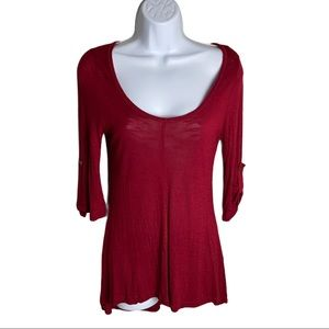 Dex Red Tunic Size S